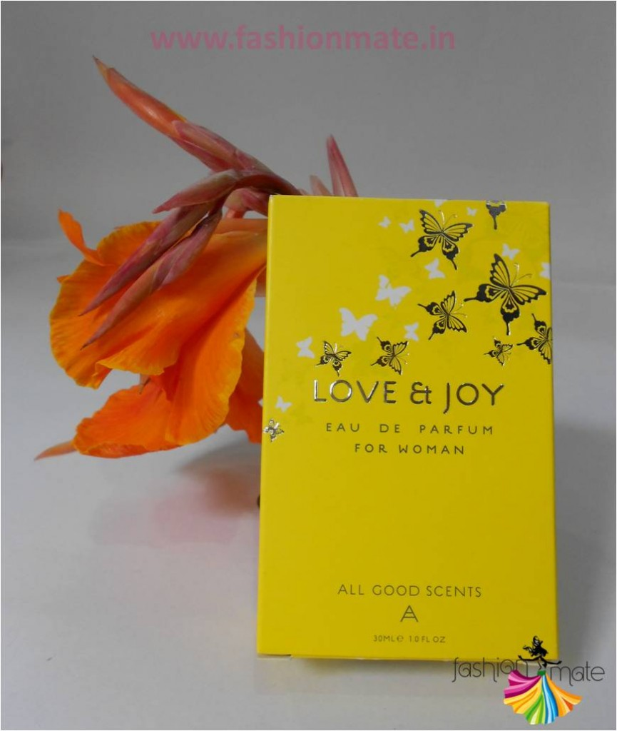 All good scents love & Joy perfume review - Indian fashion & Beauty blog