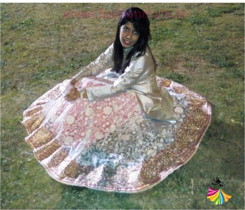 Bridal Lehenga Desinger Manish Malhotra creation replica DIY restyle