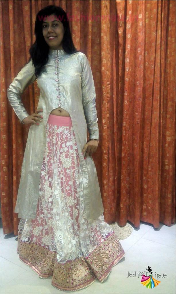 DIY Manish Malhotra style Bridal Lehenga- Indian Fashion Blog