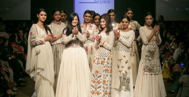 "Runway Fashion: Purvi Doshi's Collection in Bangladesh – ""Back to Start"""