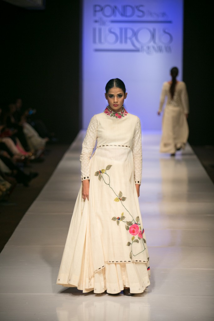 India Fashion Blog- Purvi Doshi Collection for Winter 2014