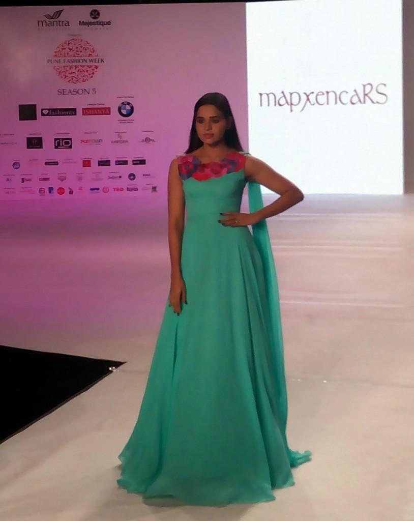 Designers Riddhi Siddhi at Pune Fashion Week 2014 day 2