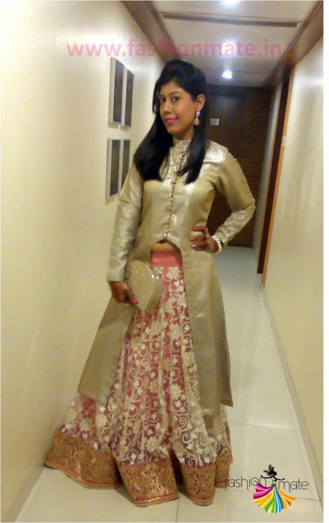 Indian Fashion Blog- DIY -Restyle new Bridal Lehenga
