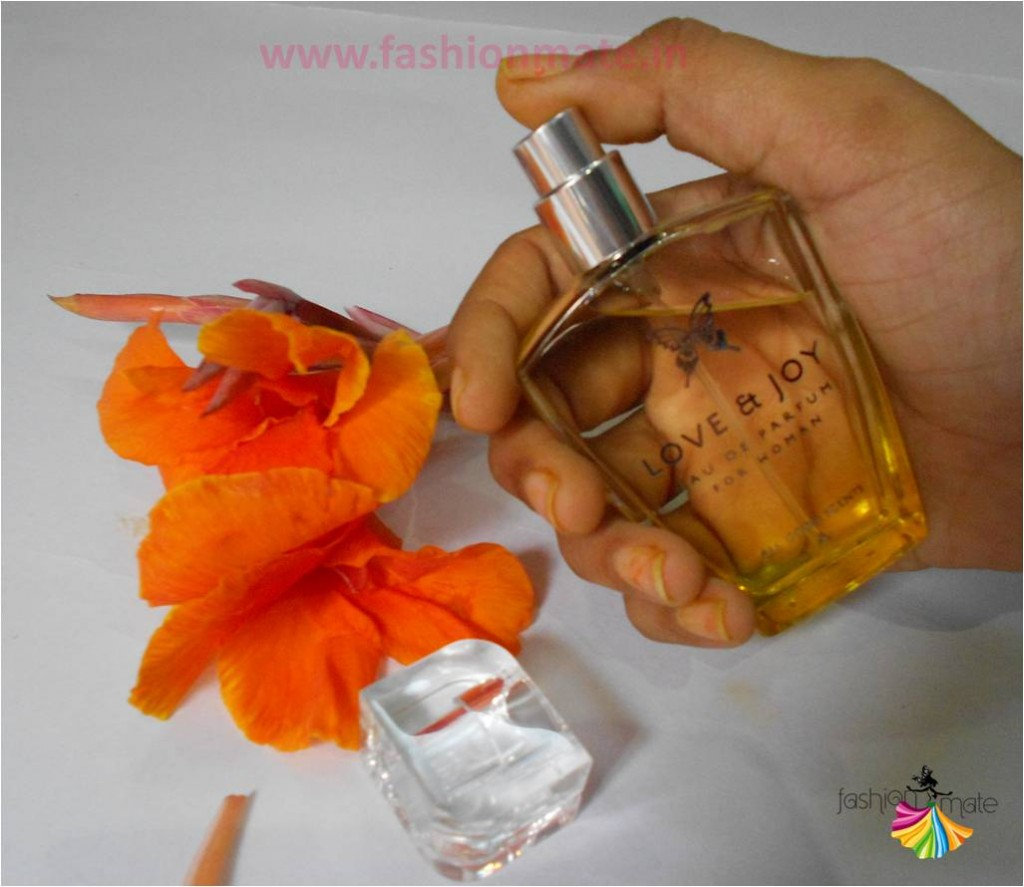 Love & Joy perfume review - Indian Beauty Blog