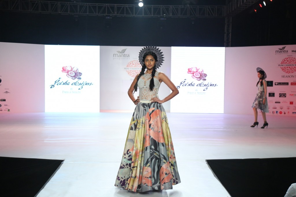 Designer Paras and Shalini collection at Pune fashion week - Day 2