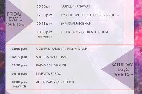 Pune Fashion Week 2014 goes Bolder & Better! Schedule & Tidbits