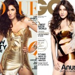 Fall Trend 2014 -Metallic is In - Katrina Kaif in Moschino for Vogue