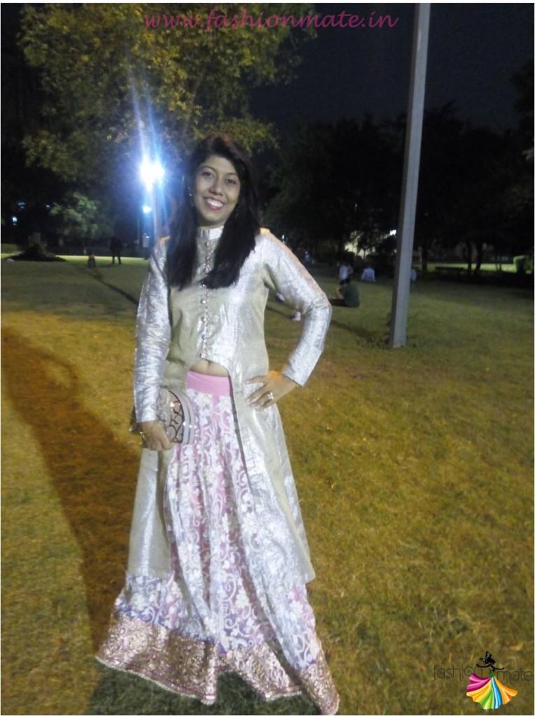 Bridal outfit trends - designer Jacket lehenga fashion trends 2015
