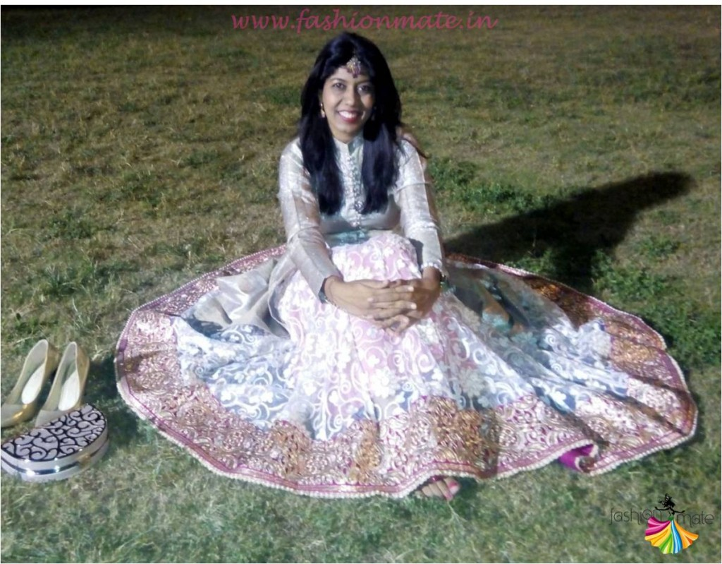 Designer Manish malhotra inspired bridal jacket lehenga ootd