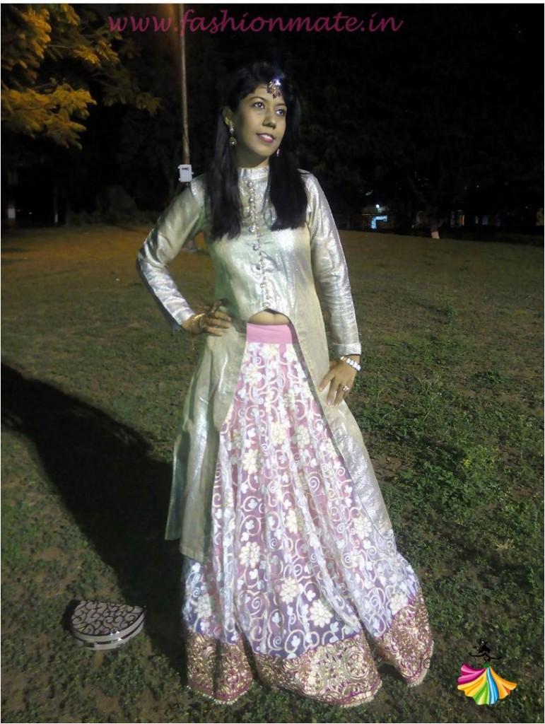 Jacket lehenga- Designer bridal fashion trends 2015