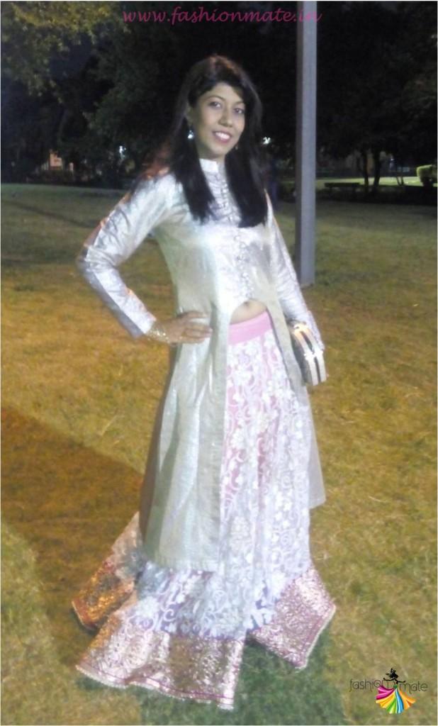 OOTD DIY Jacket Lehenga- Bridal fashion trends 2015
