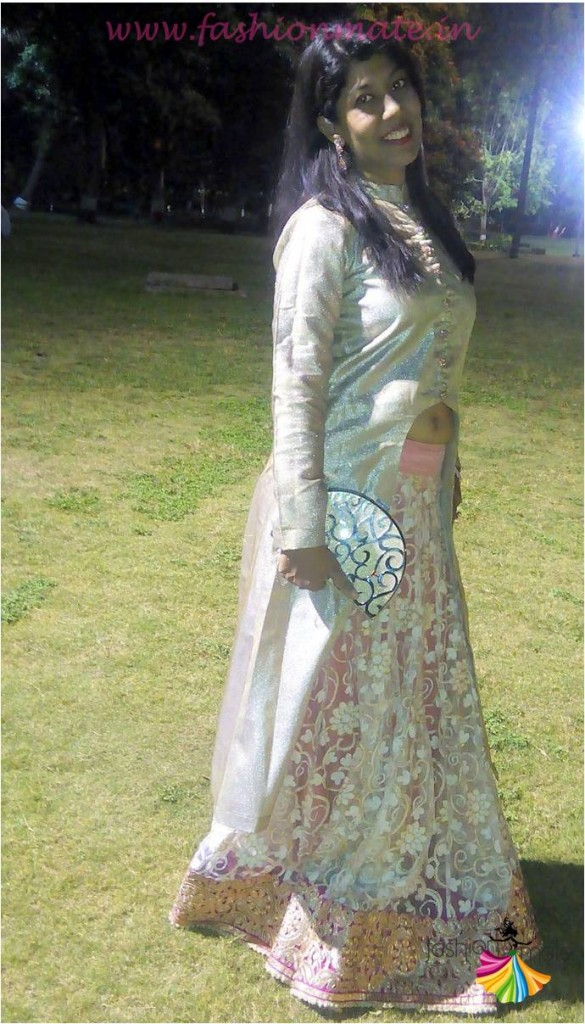OOTD- Designer Jacket lehenga bridal fashion trends 2015