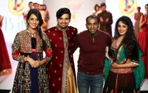 Designers Sharad Raghav, Anjali Khushalani, Satya Paul, Joy Mitra & Suneet Verma on Day 3 of Pune Fashion Week 2014