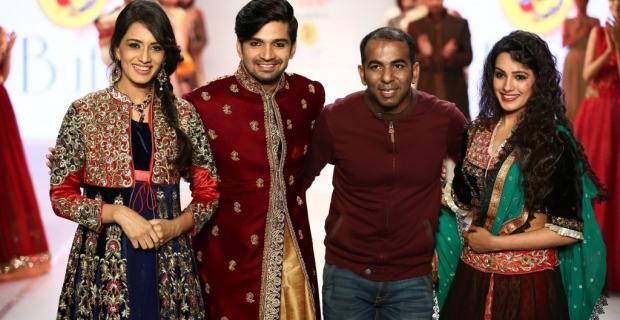 Designers Sharad Raghav, Anjali Khushalani, Satya Paul, Joy Mitra & Suneet Verma on Day 3 of Pune Fashion Week 2014