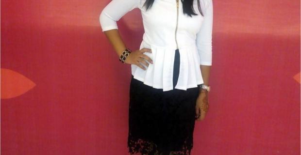 Indian Fashion Blog- Fashion Fusion: Biker Jacket goes Lacey!