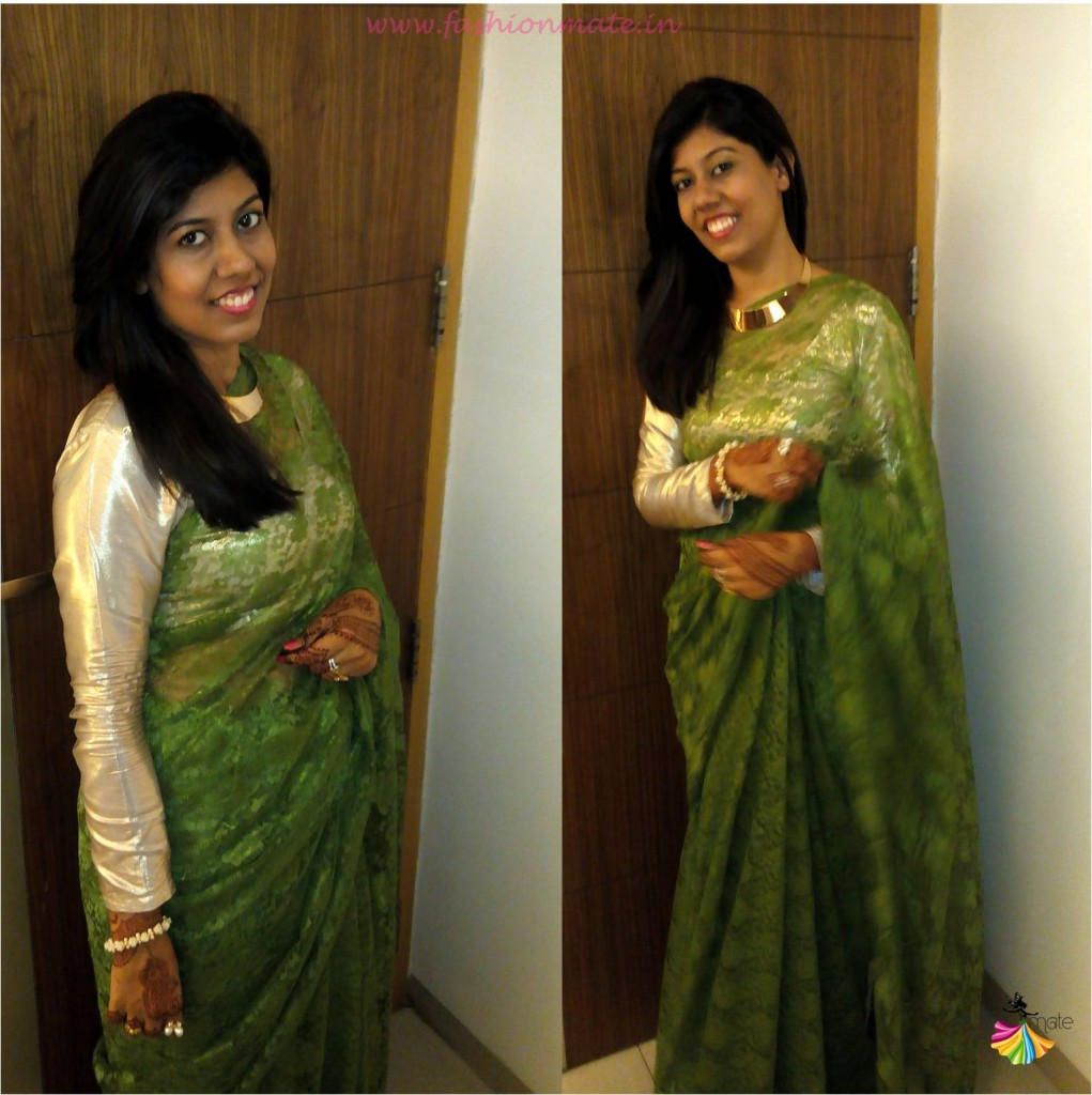DIY - Design your own saree- India fashion blog 2015