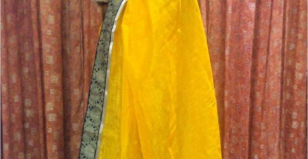 Outfit of the day – Bhagalpuri Silk Saree from Sareez.com