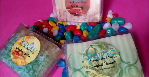 Smell Yum this Valentine's – Review of Puriso Handcrafted Soaps