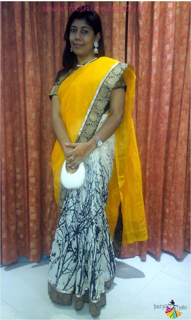 Saree Trends 2015 - Designer Bhagalpuri Silk Saree online