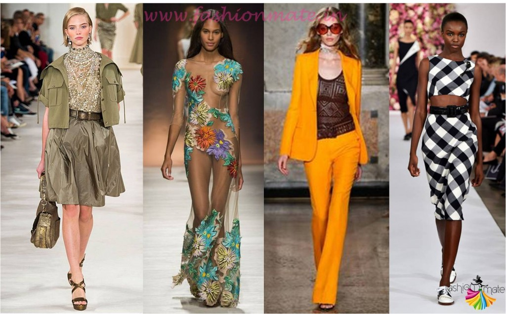 Runway inspired Top Spring Summer Fashion Trends 2015 ...