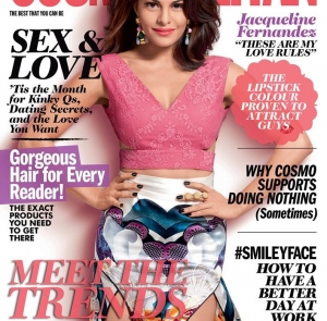 Jacqueline Fernandez on Cover of Cosmopolitan!