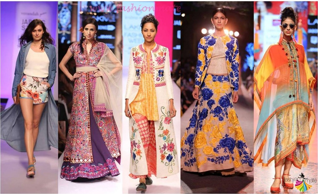 Top Indian fashion trends Spring Summer 2015 - LFW SS 2015