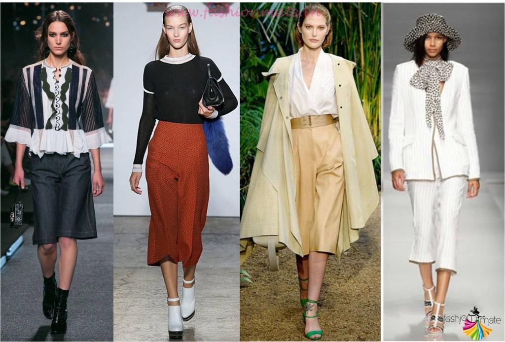 Top fashion trends 2015 - Culottes fashion trend