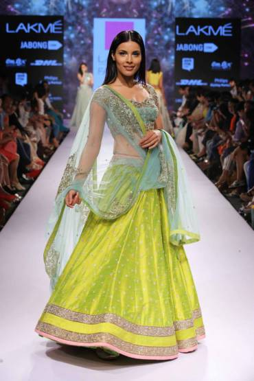 Anushree reddy collection at summer resort lakme fashion week 2015