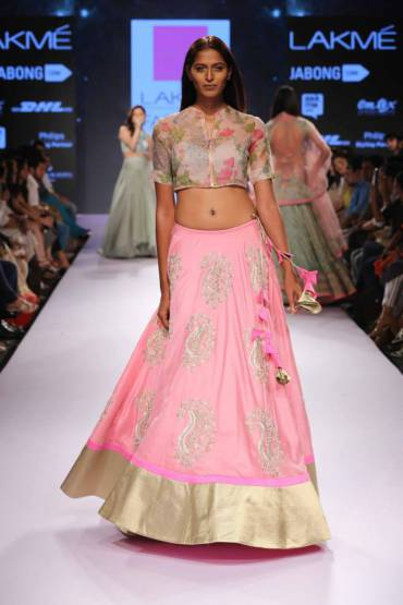 Anushree Reddy collection at lakme fashion week 2015
