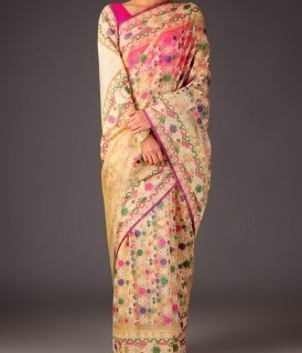 Saree Style: Get a Classy look with woven sarees