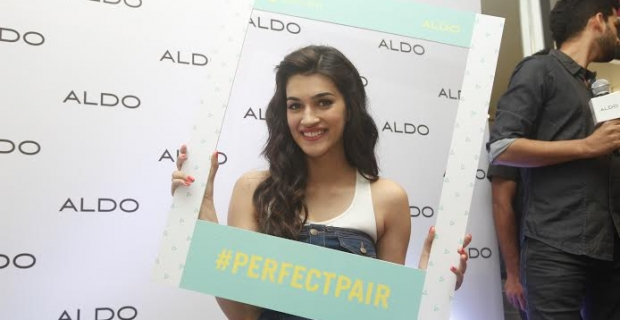 Actress Kirti Sanon Channelizes Denim overall's for Aldo SS 2015 launch