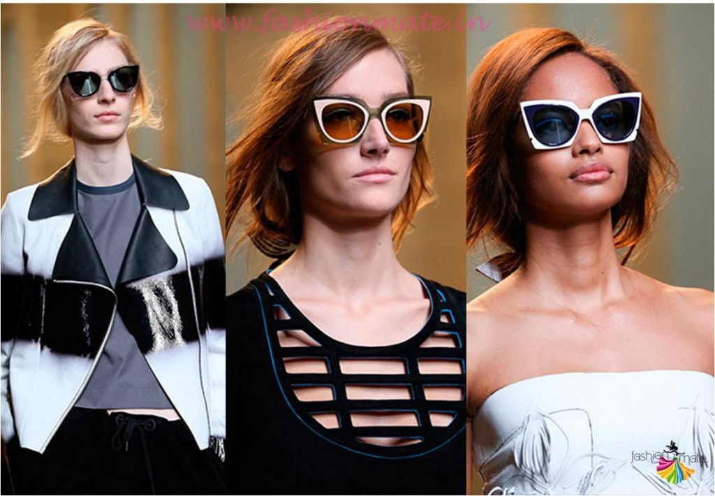 Cat eye sunglasses fashion trends summer 2015
