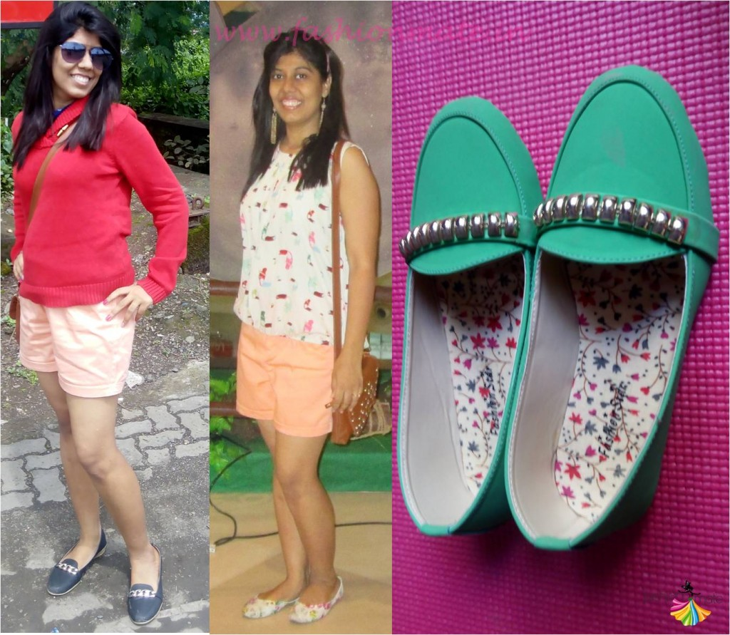 Florals or Loafer Ballerinas for casuals work wear 2015