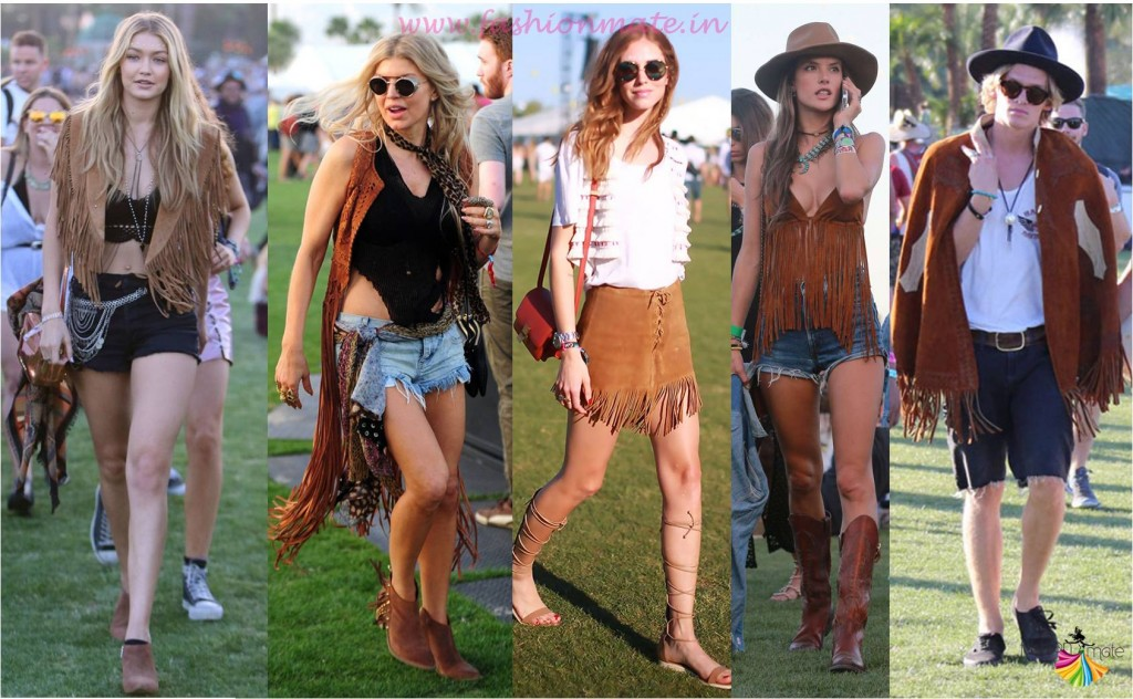 Fringe Suede Jackets Top Summer Trends 2015 Coachella festival