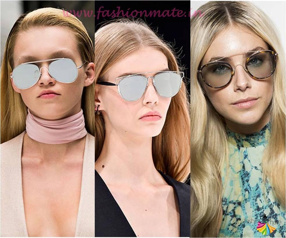 Funky Aviators sunglasses fashion trends 2015