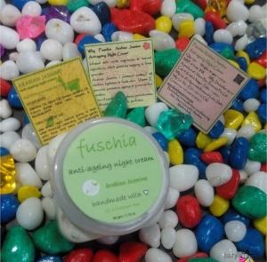 Summer Beauty Tips – Fuschia Anti Ageing night Cream Arabian Jasmine Review