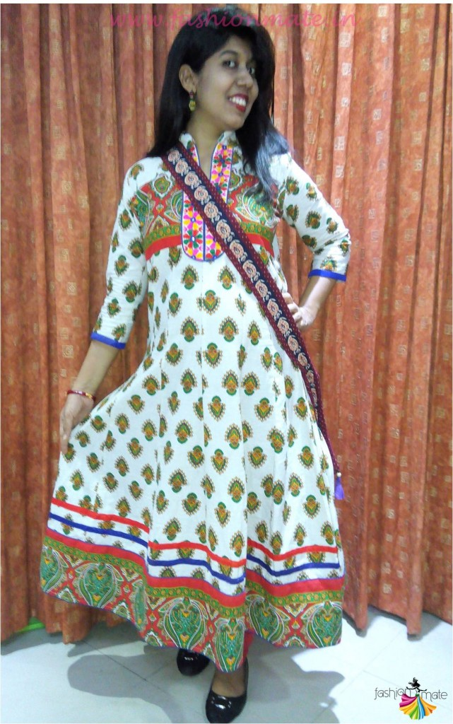 How to style your Ethnic Kurti - Bohemian Indian look