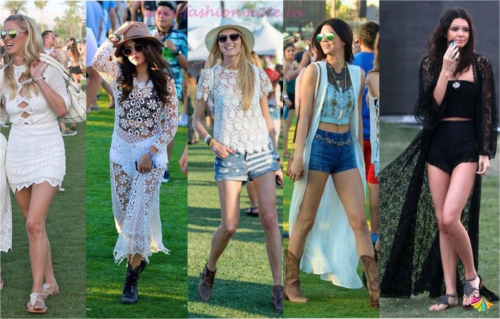 Lace and Cape Spring fashion trends 2015 coachella festival