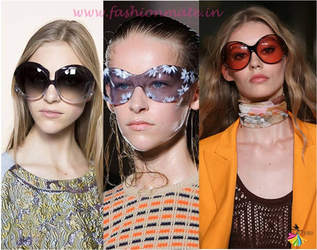 Oversized sunglasses bohochic fashion trends spring summer 2015