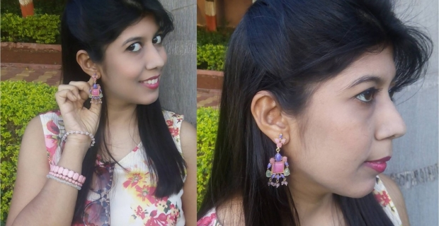 JOTD Statement Accessories for Summer 2015- Colorful Gem Earrings from Belsi Collection!