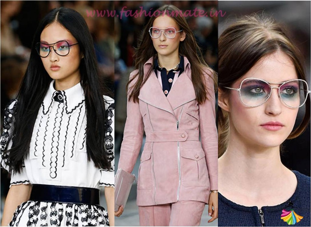 Transparent Sunglasses latest summer fashion trends 2015