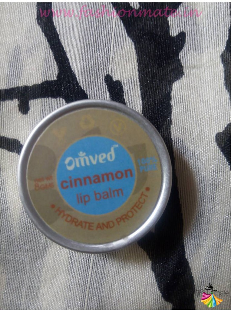 omved cinnamon lip balm review & experience