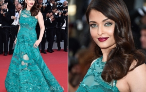 Aishwarya Rai looks gorgeous in Elie Saab at Cannes 2015