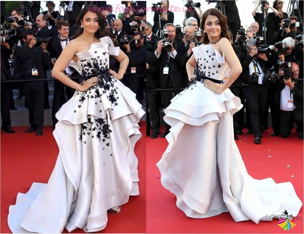 Aishwarya rai bachchan in ralph & russo at Cannes international film festival 2015