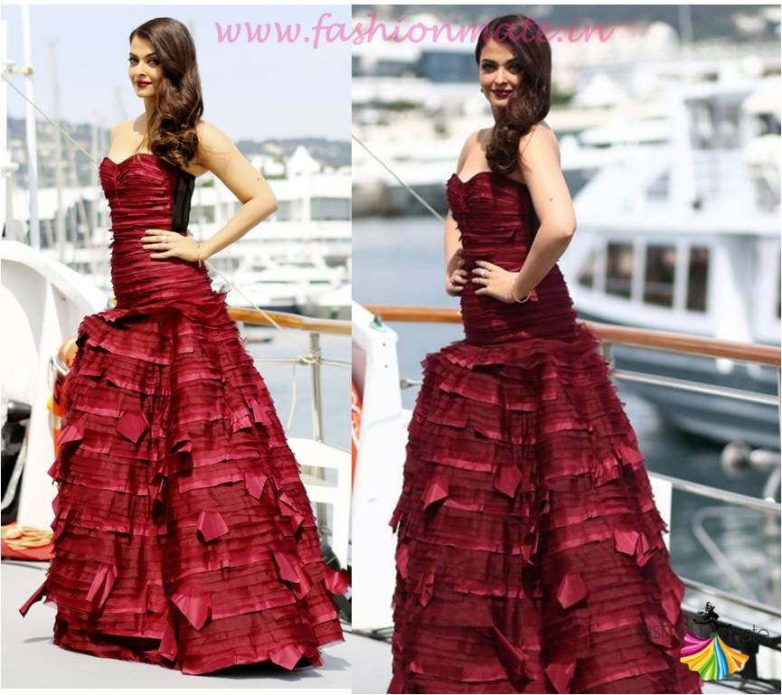 Aishwarya rai in oscar de la renta at cannes 2015