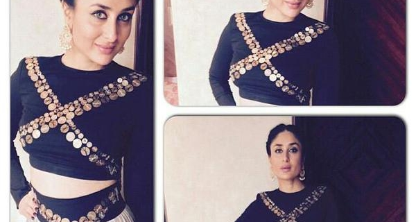 Kareena Kapoor in Anamika Khanna at Malabar gold launch in Malaysia