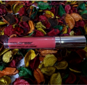 Beauty Reviews: Colorbar deep matte lip creame in deep blush Review & Swatches