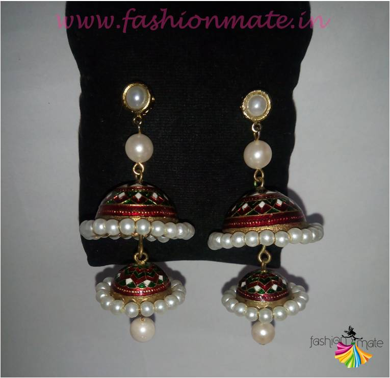 Confusions fashion accessories - Dool earrings for party wear