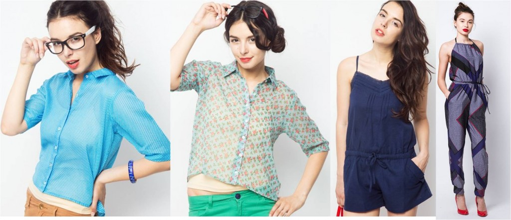 Crop shirts and jumpsuits Summer Fashion trends
