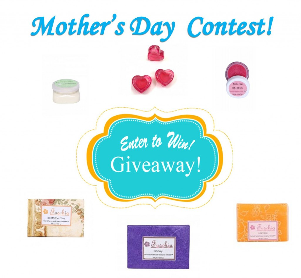Fashionmate mothers day giveaway- Fuschia Gift hampers